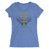 All Things (WOMEN'S FITTED) - 15 colors - Jesus Gift Store