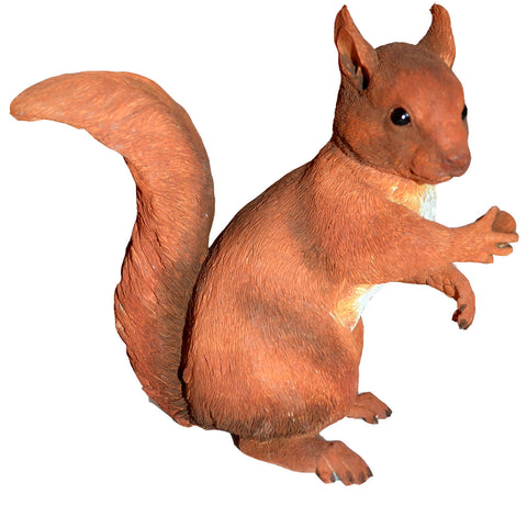 Red Squirrel Figure