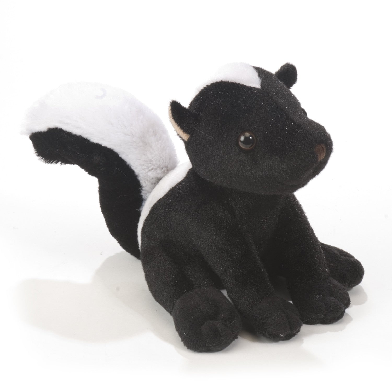 "Plush 6"" Sitting Skunk - Squirrels and More"