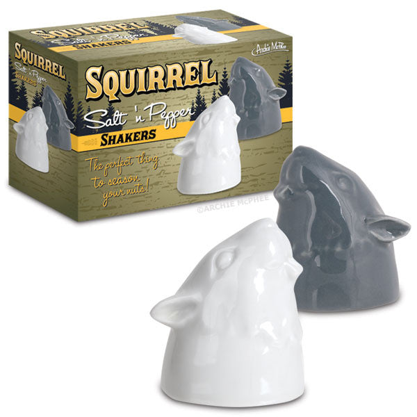 Squirrel Salt and Pepper Shaker - Squirrels and More