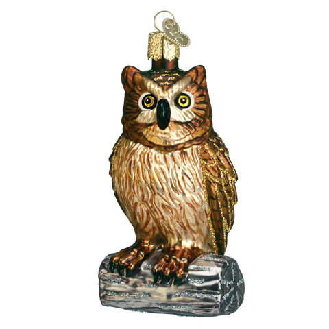 Wise Old Owl Ornament