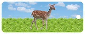 Deer Motion Bookmark / Ruler 6""