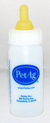 4 oz. Nurser Bottle w/ Nipple or Pkg/5 Replacement Nipples by PetAg