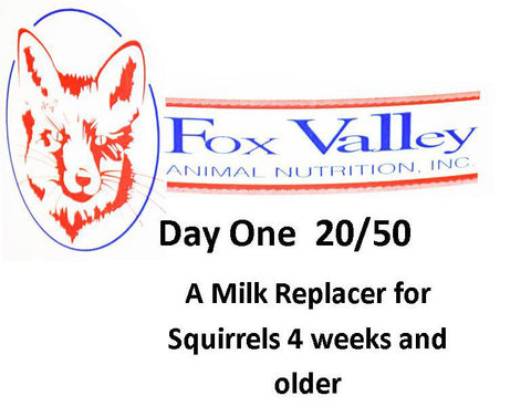 Fox Valley 20/50 Squirrels 4 weeks and older