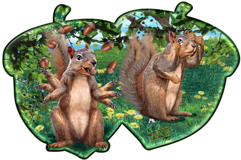 Squirrelin' Around - Reader / Tablet Skin