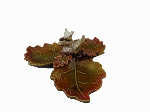 Squirrel Leaf Dish