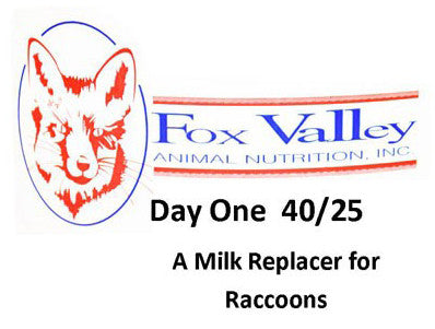 Fox Valley 40/25 Raccoons  PLEASE CALL TO PLACE YOUR ORDER FOR RACCOON 40/25