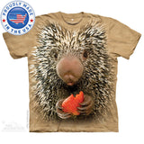 Baby Porcupine Big Face T-Shirt - Squirrels and More