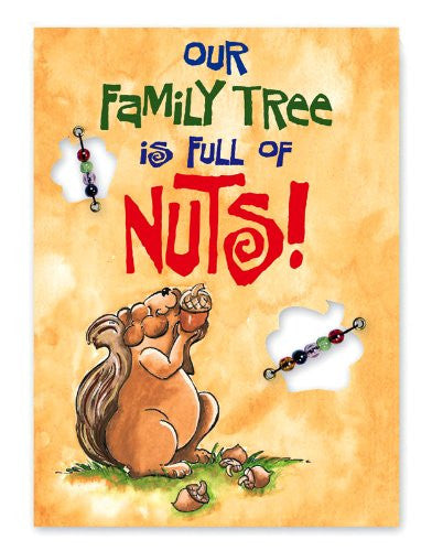 Our Family Tree Is Full of Nuts Flag - Squirrels and More
