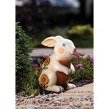 Rabbit Jeweled Garden Statuary - Squirrels and More
