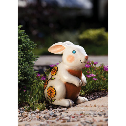 Rabbit Jeweled Garden Statuary
