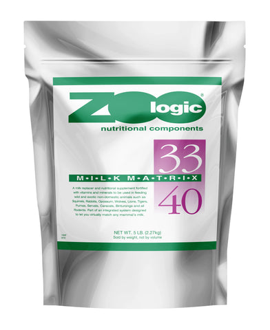 Zoologic® Milk Matrix 33/40 5 lb. Bag CALL FOR PRICE
