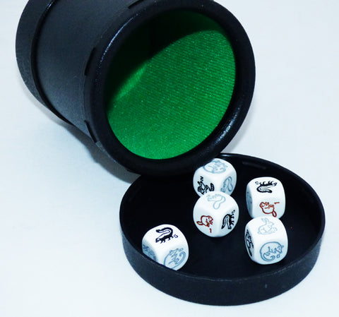 Woodland Animal Dice