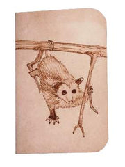 Opossum Juvenile Leather Journal