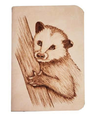 Opossum Adult Leather Journal