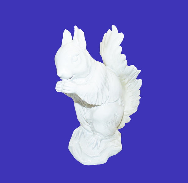 White Squirrel Statue