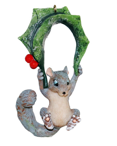 Swinging Squirrel Ornament