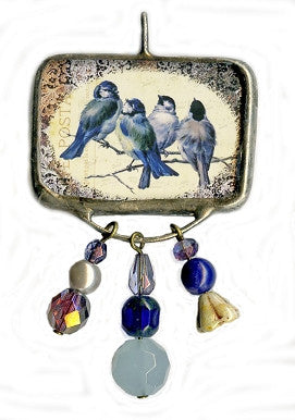 Best Friends Birds Pendant