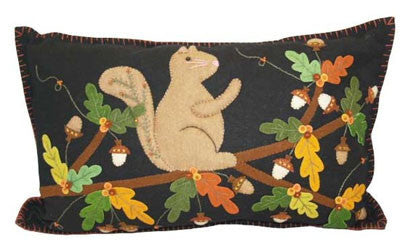 Rectangular Squirrel Pillow - Squirrels and More - 2