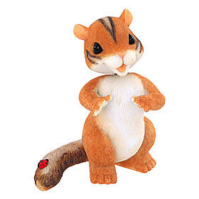 """Chauncey"" Bobble-Head Chipmunk-Charming Tails"