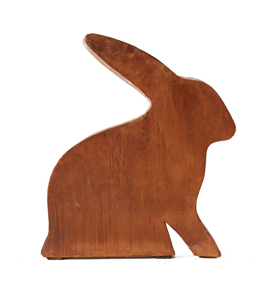 Metal Rabbit Decor