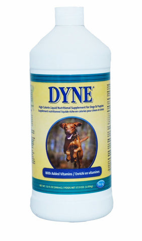 DYNE High Calorie Liquid Nutritional Supplement for Dogs & Puppies 32 oz.