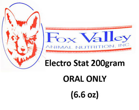 Electro Stat by Fox Valley Day One Nutrition 200 gram 6.6 oz.