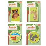 Jumbo Animal Erasers - Squirrels and More - 1