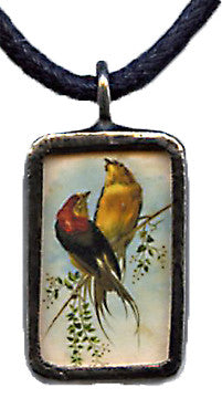 French Bird Pendant