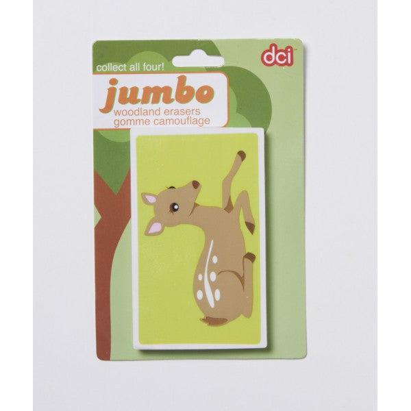 Jumbo Animal Erasers - Squirrels and More - 2