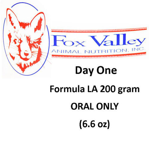 LA200 by Fox Valley Day One Nutrition 6.6 oz