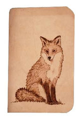 Fox Leather Journal