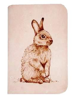 Rabbit Leather Journal