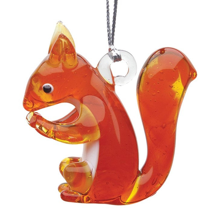 Glass Delights Orange Squirrel