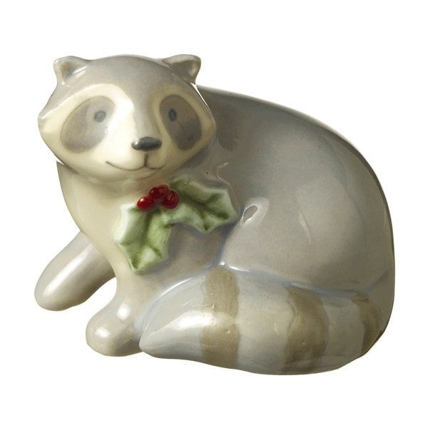 Mini Raccoon Figurine - Squirrels and More