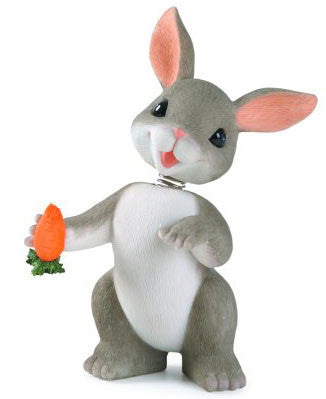 Binkey Bobble Head Bunny by Charming Tails