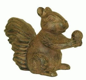 Rustic Squirrel Figurine