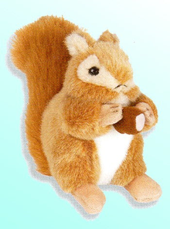 Red Squirrel Stuffed Animal - Squirrels and More