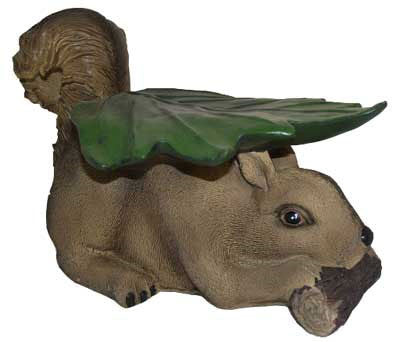 Squirrel Stool Figural