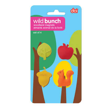 Woodland Magnets Set of 4
