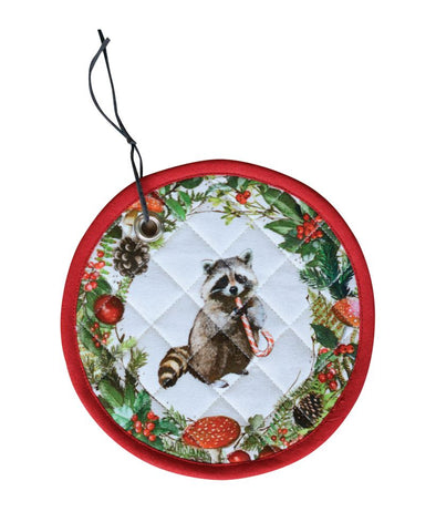Raccoon Pot Holder