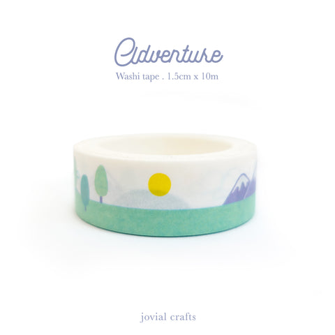 Adventure Washi Tape