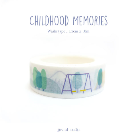 Childhood Memories Washi Tape