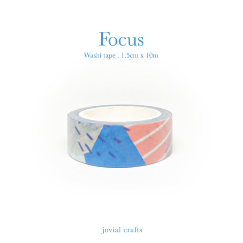 Focus Washi Tape