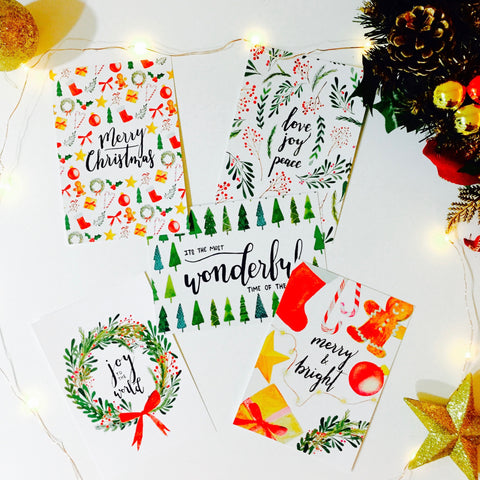 Christmas Postcards (set of 10)