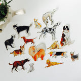Dog Days Stickers