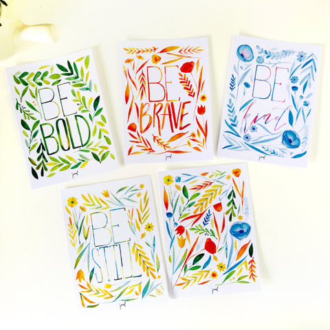 Be-Attitude Postcards (set of 10)