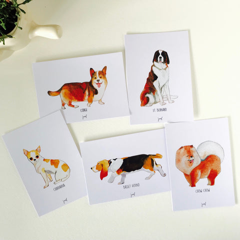 Dog Days Postcards (set of 10)