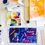 Bookbinding + Art Jamming Workshop