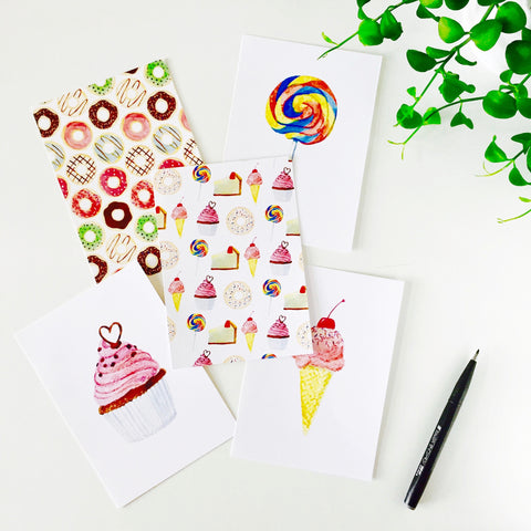 Sweet Noting Postcards (set of 10)